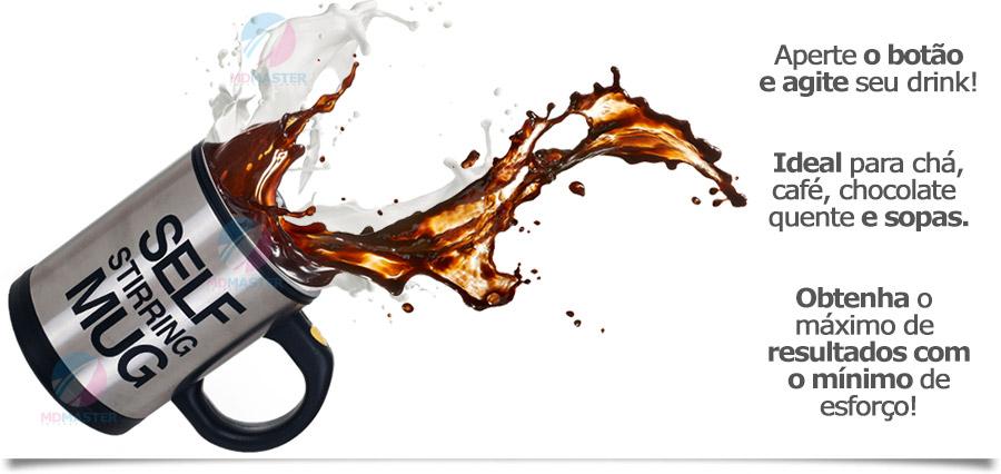 Caneca Mixer Aço Inox